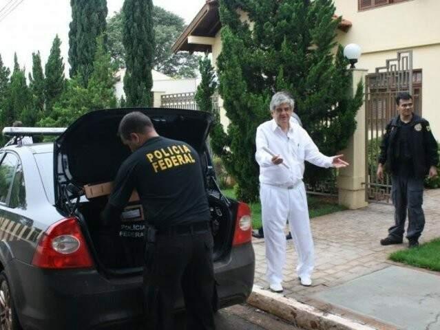 Adalberto Siufi, ex-diretor da fundação, foi investigado na Sangue Frio. (Foto: Marcos Ermínio/Arquivo)