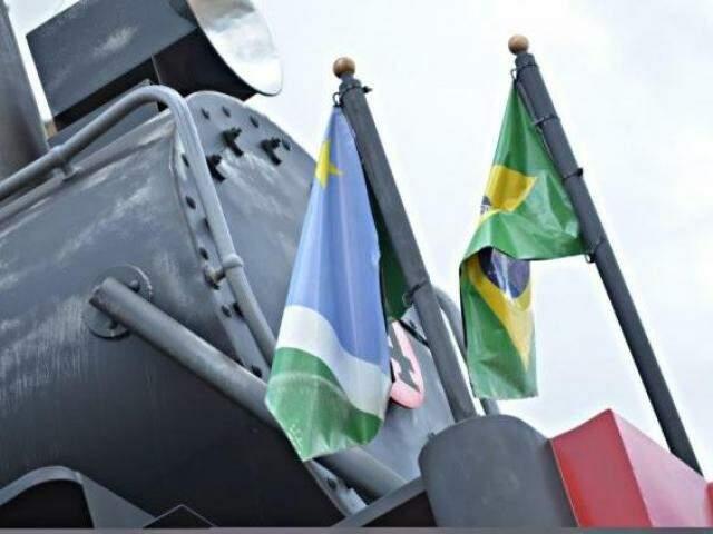 Projeto prevê hasteamento obrigatório da Bandeira Nacional (Foto/Arquivo:Gustavo Maia)