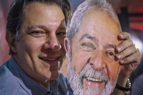 Com Lula na prisão, PT oficializa Haddad candidato a presidência