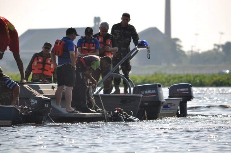 Tornado em Porto Murtinho afundou embarcação e 14 pessoas morreram. (Foto: Marcelo Calazans)