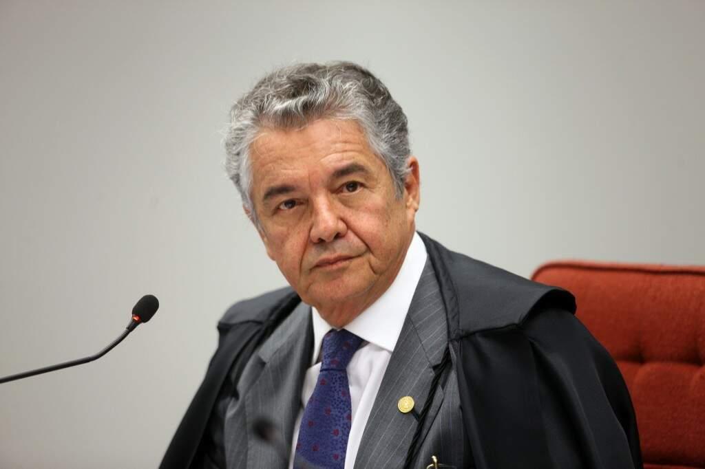 Marco Aurélio foi relator do processo no Supremo. (Foto: Nelson Jr./SCO/STF)