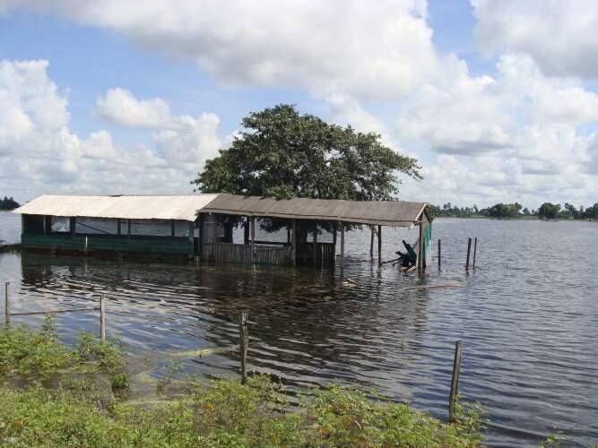 O pantanal convive todos os anos com os chamados pulsos de inundação. (Foto: Divulgação)