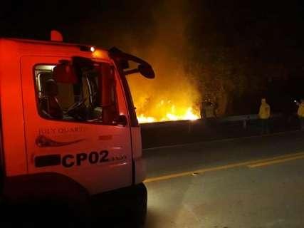 Chuva colabora com brigadas e focos de incêndios caem 81% em 24 horas