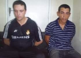 Dupla foi presa em Ponta Porã (Foto: Divulgação).