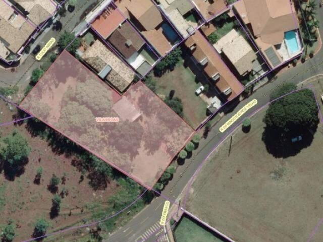 Lote avaliado em R$ 1,168 milhão nn Rua Domingos Jorge Velho, no Vilas Boas. (Foto: Divulgação)