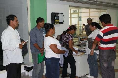 Em disputa com MST e CUT, Fetagri protesta no Incra por mais lotes