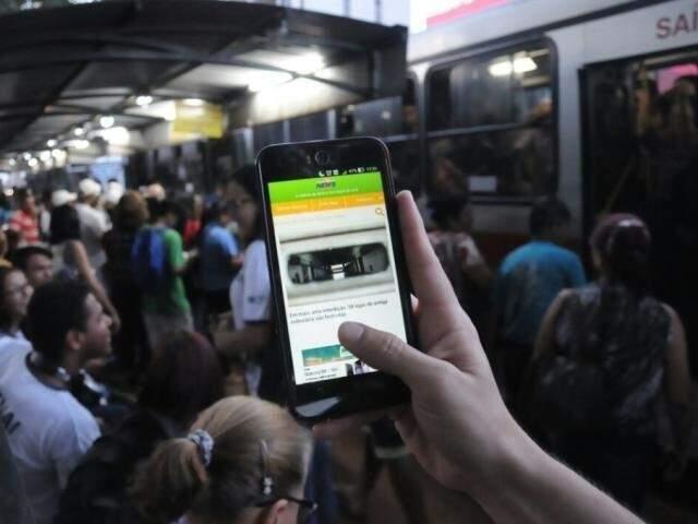Com relação as tecnologias 3G e 4G, que permitem acesso móvel à internet, os dados mostram que a cobertura de 3G está em 5.301 municípios. (Foto: Arquivo)