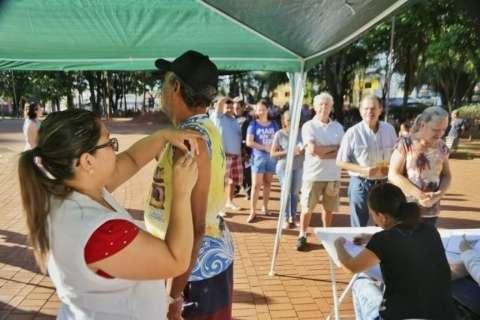 Com 4 mortes, doses de vacina contra a gripe acabam em Três Lagoas
