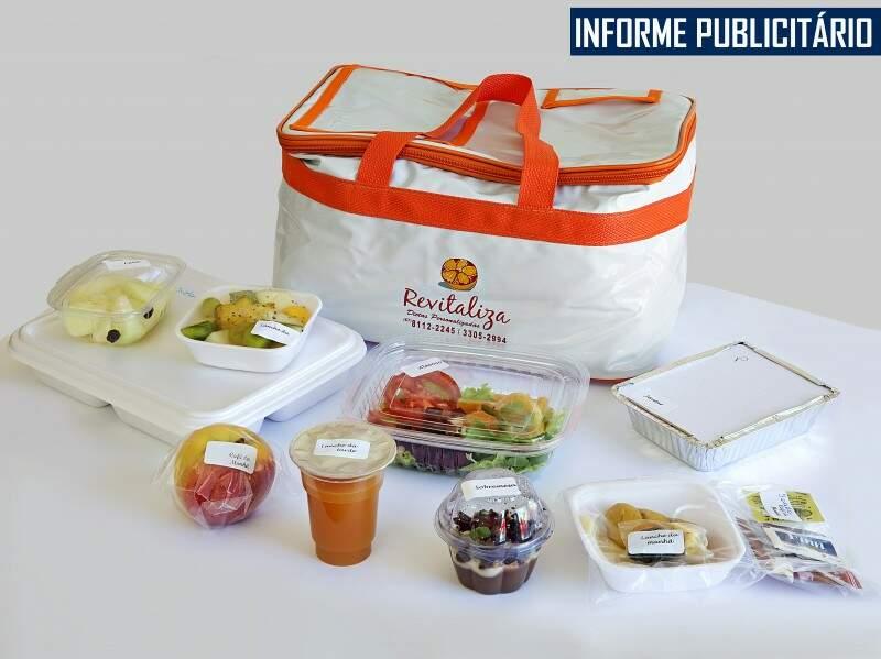 Com dietas personalizadas, a Revitaliza oferece refeições de acordo com a necessidade do cliente. (Foto: Guilherme Molento)