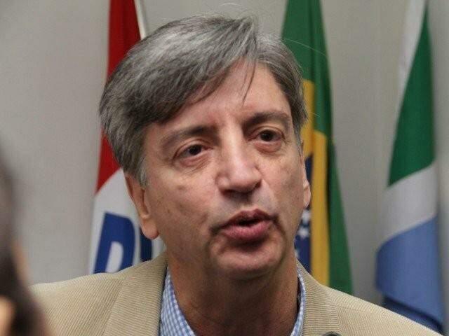 Dagoberto Nogueira durante entrevista ao Campo Grande News. (Foto: Marcos Ermínio)