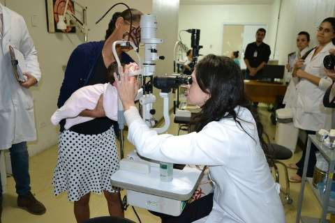 Realizadas primeiras cirurgias de catarata em crianças na Santa Casa