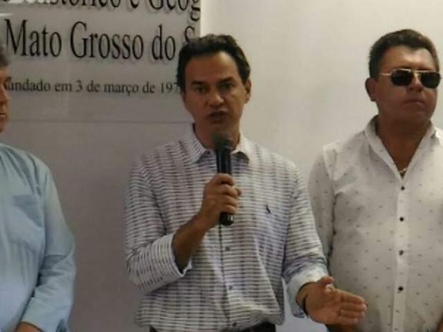 Prefeito de Campo Grande, Marquinhos Trad, PSD. (Foto: Kleber Clajus).
