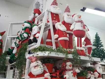 Pelo menos no comércio, o clima de Natal já chegou a Campo Grande