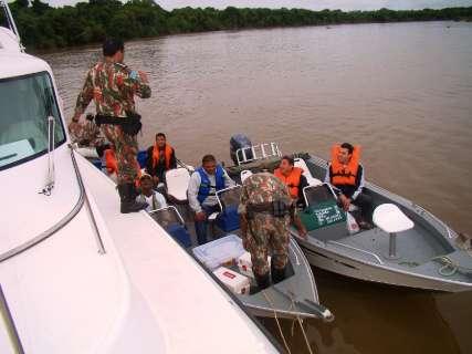 Com a pesca proibida até fevereiro, PMA põe 360 policiais na fiscalização