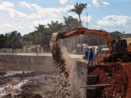 Ministério garante repasse e obras de revitalização do Anhanduí continuam
