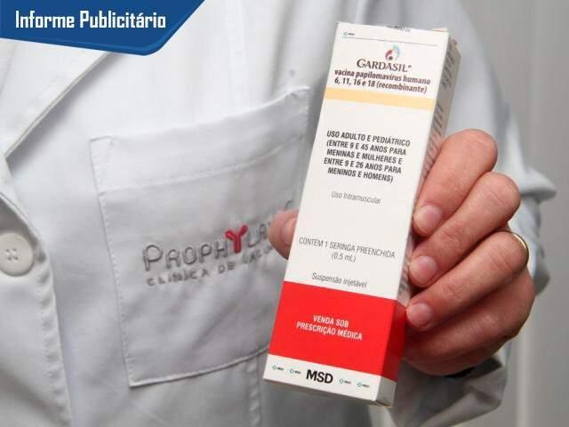 Clínica Prophylaxis fechou parceria com laboratório MDS, que produz a vacina.