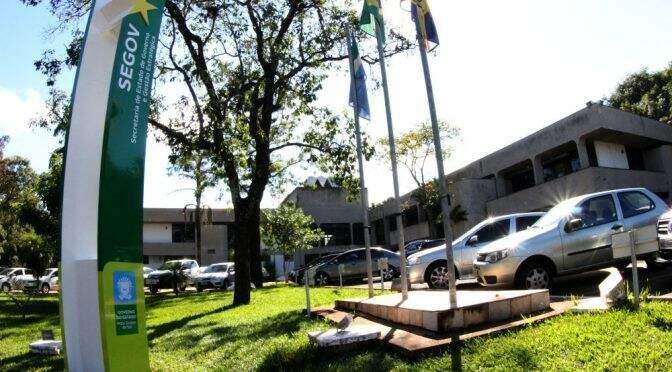 Prédio da Governadoria teve oscilações de energia nesta manhã (Foto: Chico Ribeiro)