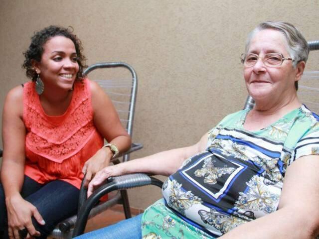 Mariana virou um exemplo de força quando recebeu da vida o desafio de encarar de frente o preconceito.