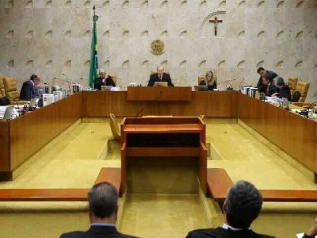 Autoridades durante a sessão de votação desta quarta-feira. (Foto: Alan Marques/Folhapress/UOL)