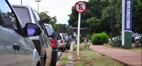 Centro do poder em Campo Grande é exemplo de desrespeito às leis