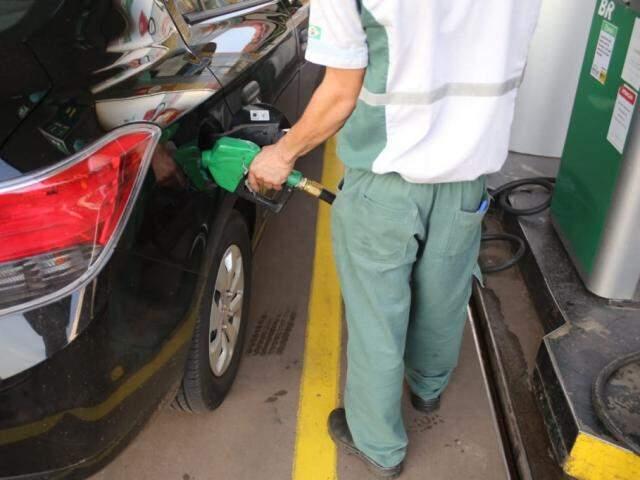 Cenário em MS acompanha o nacional, a comercialização do etanol hidratado também foi acima da média. (Foto: Paulo Francis)