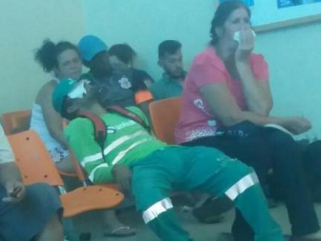 UPA do Universitário estava cheio e demora no atendimento fez com vários pacientes desistissem (Foto: Direto das Ruas)