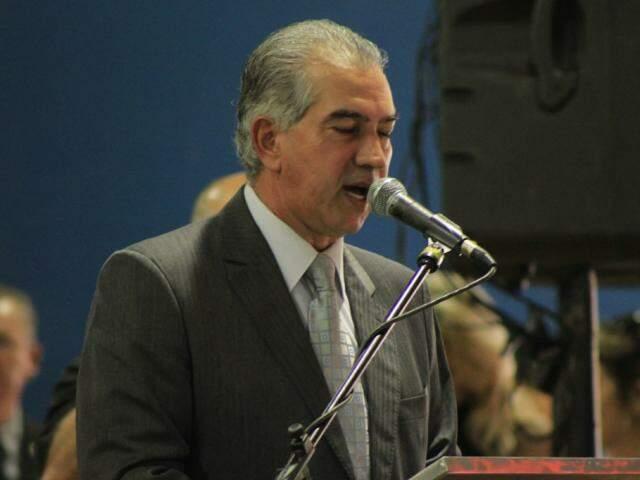 Governador do Estado, Reinaldo Azambuja, PSDB. (Foto: Marina Pacheco/Arquivo).