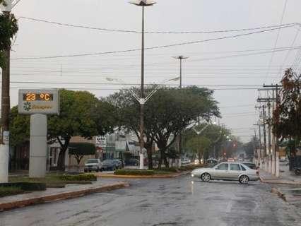 Frente fria chega a MS e provoca chuva em cidades da região sul
