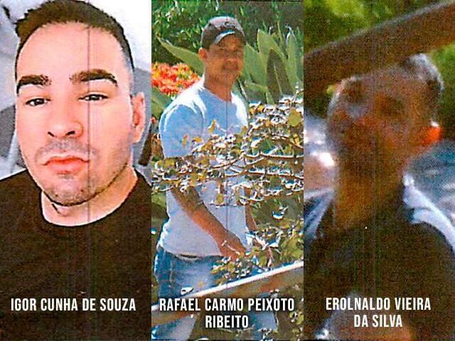 Igor, Rafael e Eronaldo foram presos em 27 de setembro na operação Omertà.