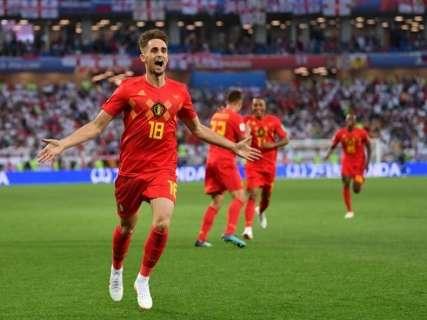 Bélgica derrota Inglaterra e termina fase de grupos com 100% de aproveitamento