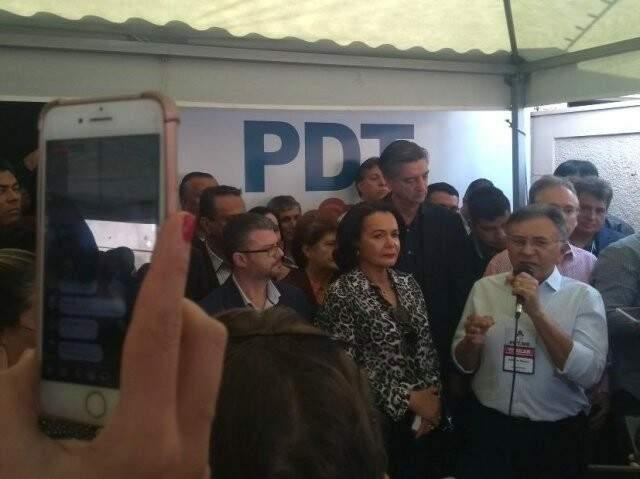 Apoio do Pros ao PDT havia sido comunicado em convenção no dia 21 de julho. (Foto: Humberto Marques/Arquivo)