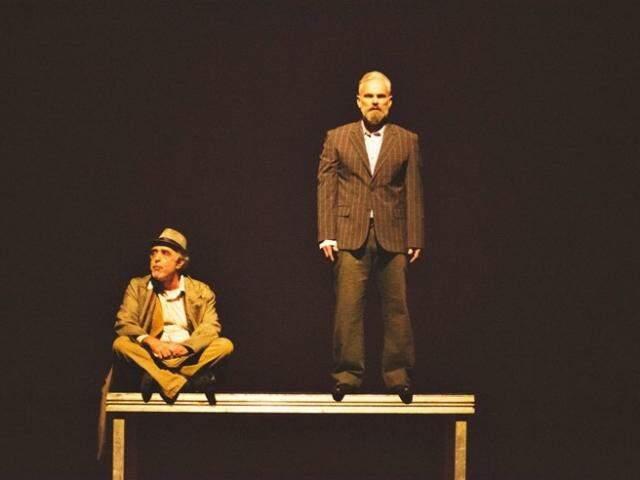 """Imagem da peça """"O Vendedor de Sonhos"""" , que será apresentada no sábado."""
