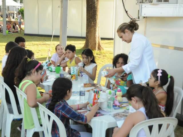 Na Galeria Eco Criança, assuntos como sustentabilidade e consciência ambiental são tratados de forma lúdica. (Foto: Rodrigo Pazinato)