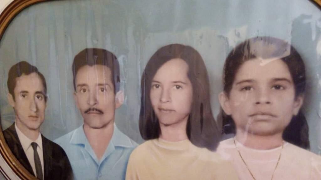 Marinho, Custódio, Idalina e Maria. (Foto: Arquivo Pessoal)