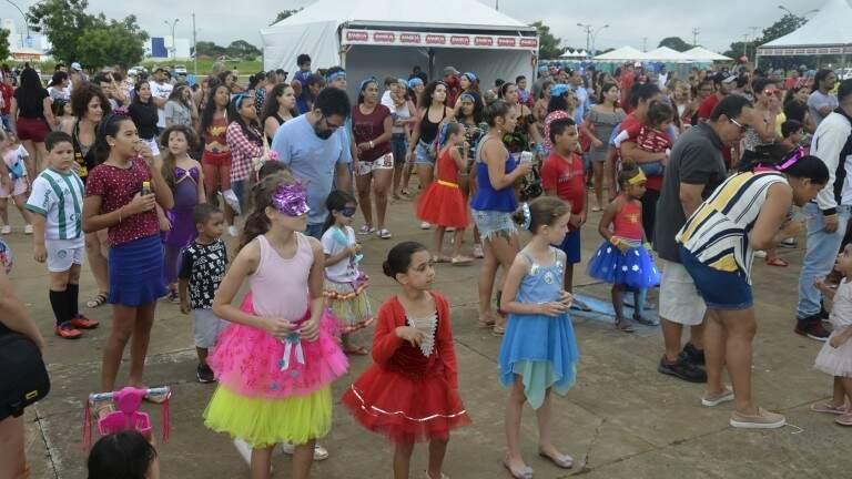 Carnaval terá um dia com matinê para crianças (Foto: Divulgação/Prefeitura de Campo Grande)