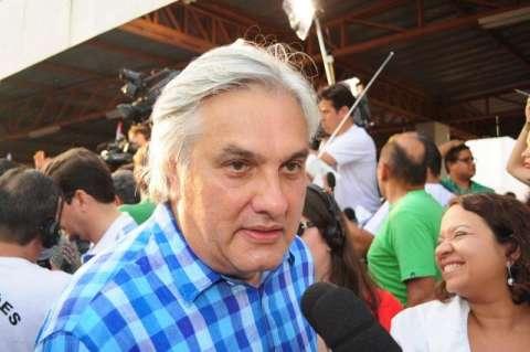 """""""O sucesso dele é meu também"""", diz Delcídio sobre Alcides Bernal"""