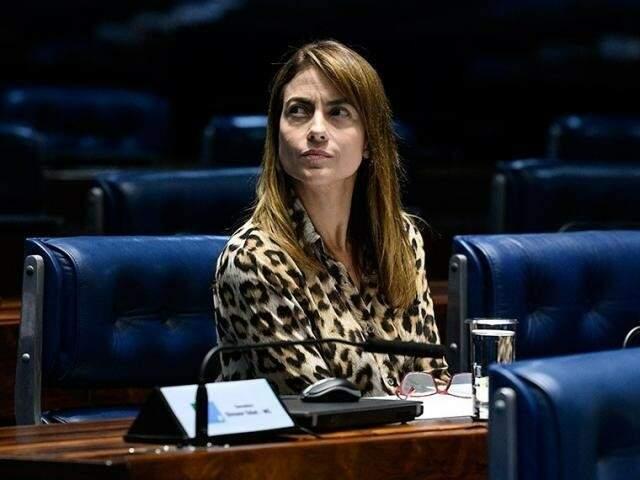 Presidente do PSL em MS, a senadora Soraya Thronicke (Foto: Divulgação/Senado)
