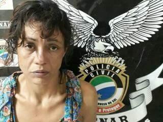 Segundo a polícia Eliane tem várias passagens pela polícia (Foto: Divulgação Denar)