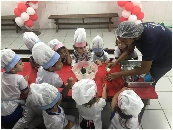 Oficina de Culinária Infantil - Foto Divulgação