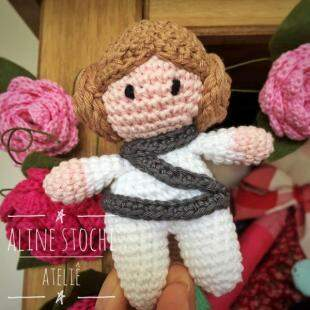 Mini princesa Leia para fãs de Star Wars. (Foto: Aline Stochi)