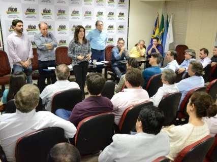 Lideranças do MDB se reúnem para começar discussão sobre 2020