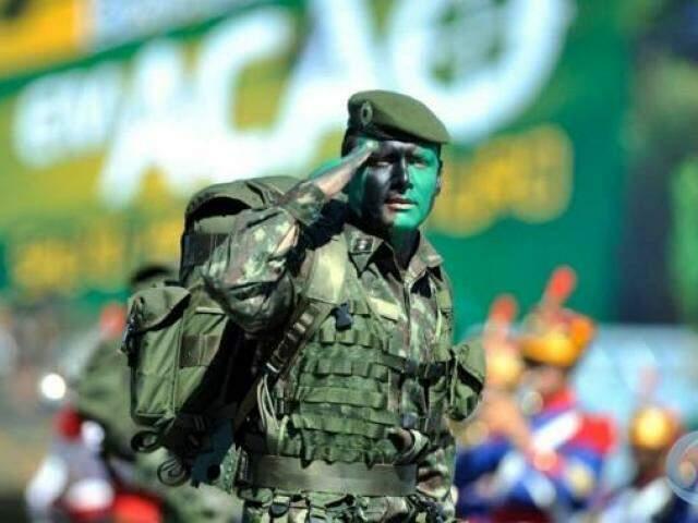 Há  vagas para profissionais de nível superior abertas pelo Exército em Mato Grosso do Sul. (Foto: Divulgação)