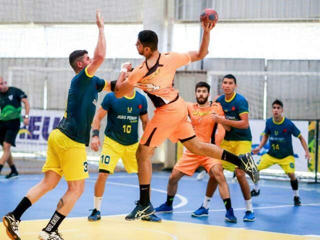 Torneio de handebol faz parte da programação dos Jogos Universitários Brasileiros (Foto: Divulgação)