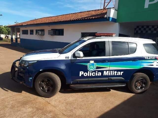 Viatura da PM de Caarapó (Foto:  José Carlos/Caarapó News)