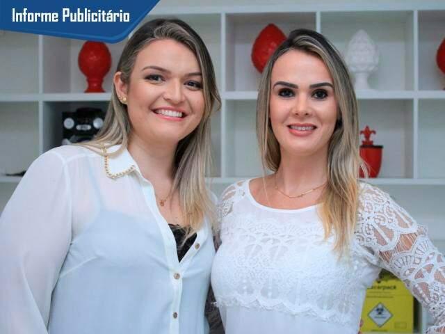 Kelly é especialista em manicure e Renata em tratamentos estéticos corporais e faciais.