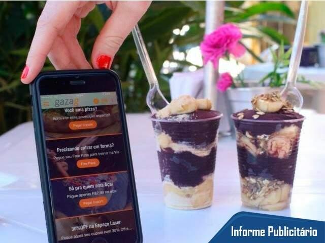 Promoção é valida para quem tiver o aplicativo no celular. (Foto: André Bittar)