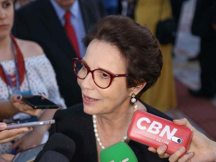 Tareza Cristina, atual deputada federal e futura ministra da Agricultura. (Foto: Paulo Francis/Arquivo).