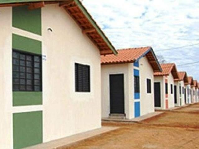 Casas de programas como o Pró-Morar e Che Roga Mi terão critérios específicos para quitação. (Foto: Arquivo)