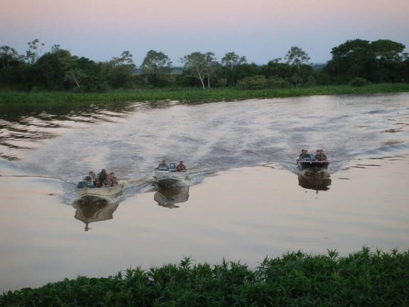Policiais apreenderam 632 kg de pescado durante Piracema (Foto: Divulgação/PMA)