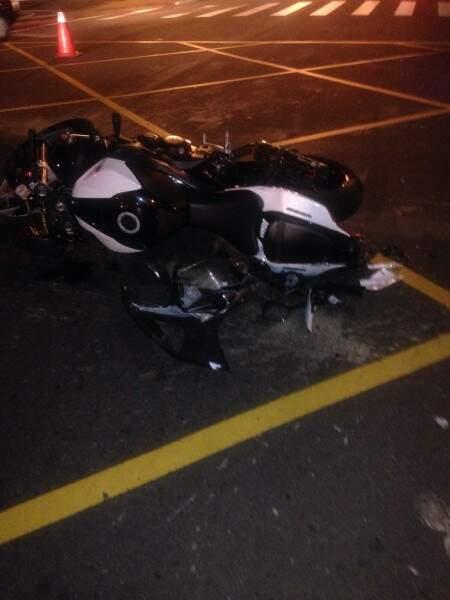 A moto seria vendida nesta quarta-feira.(Foto:Direto das Ruas).